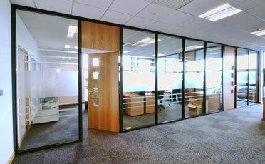 HiTech Construction Glazed Partitions County Galway